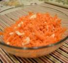 Ensalada de zanahoria y huevo