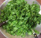 Ensalada de radicheta (Achicoria)