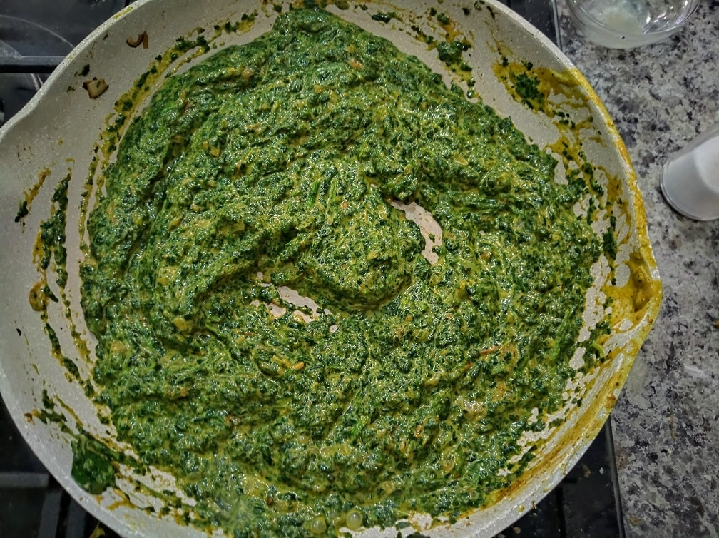 Espinacas estilo la India – Indian Saag